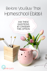 Before You Buy That Homeschool Eblast • EMAIL MARKETING TO THE HOMESCHOOL NICHE